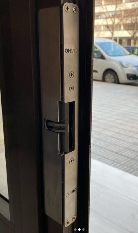 Cerradura seguridad OHM BLUE